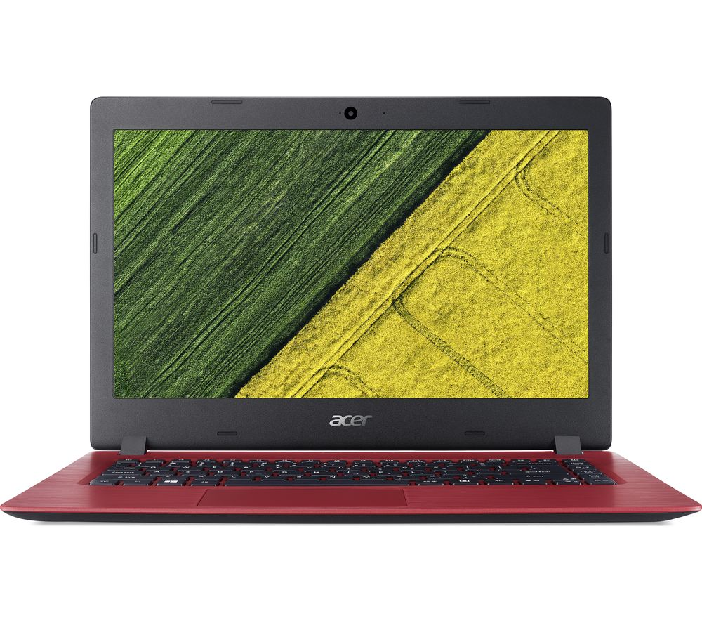 "Image of ACER Aspire 1 A114-31 14"" Intel® Celeron Laptop - 32 GB eMMC, Red, Red"