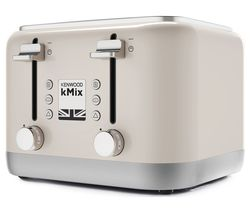 KENWOOD KMIX 4-Slice Toaster - Cream
