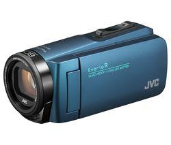 JVC GZ-R495AEK Camcorder - Blue