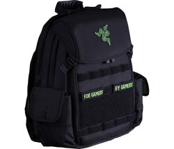 "Tactical 14"" Laptop Backpack – Black"