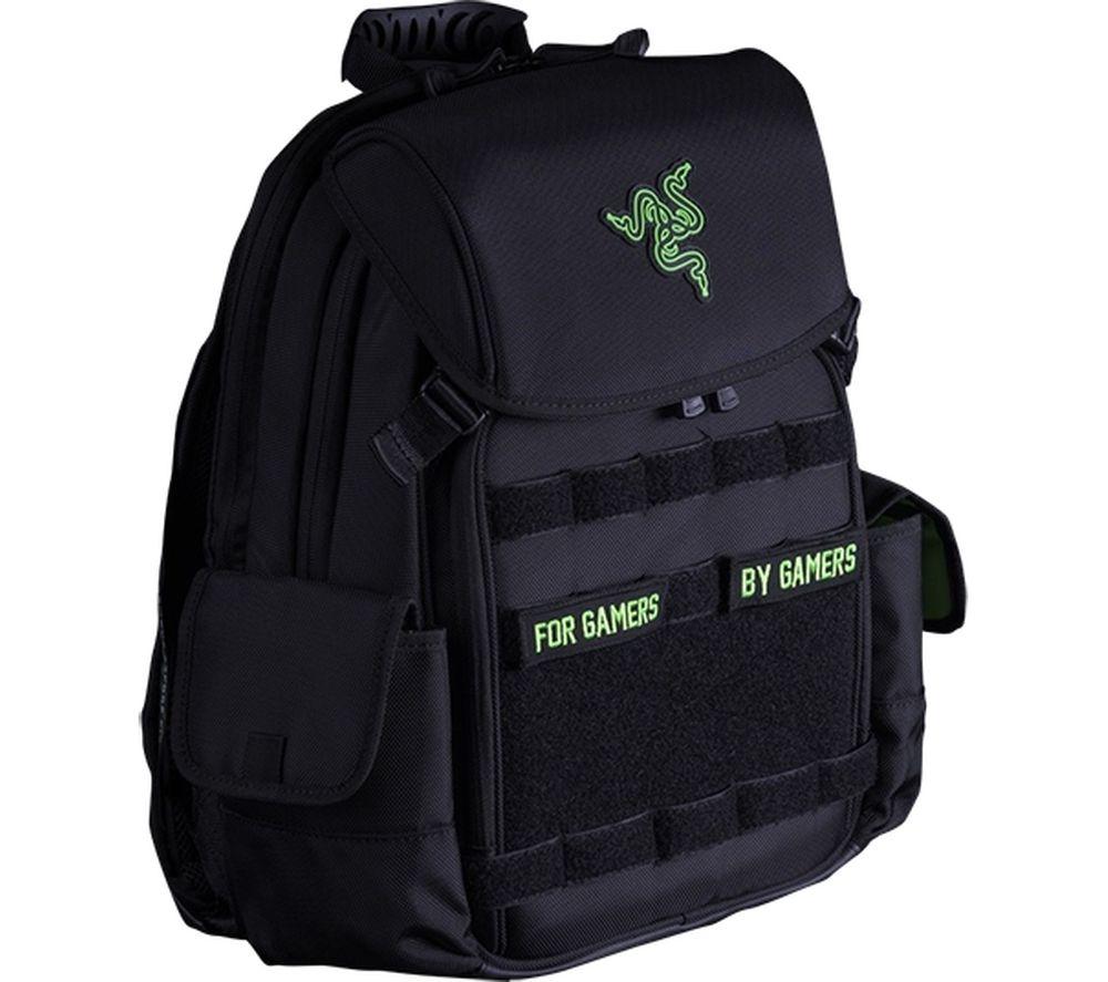 """RAZER Tactical 14"""" Laptop Backpack – Black"""