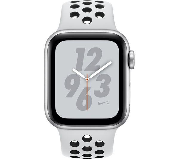 MU6H2B/A - APPLE Watch Nike+ Series 4 - Silver & Platinum