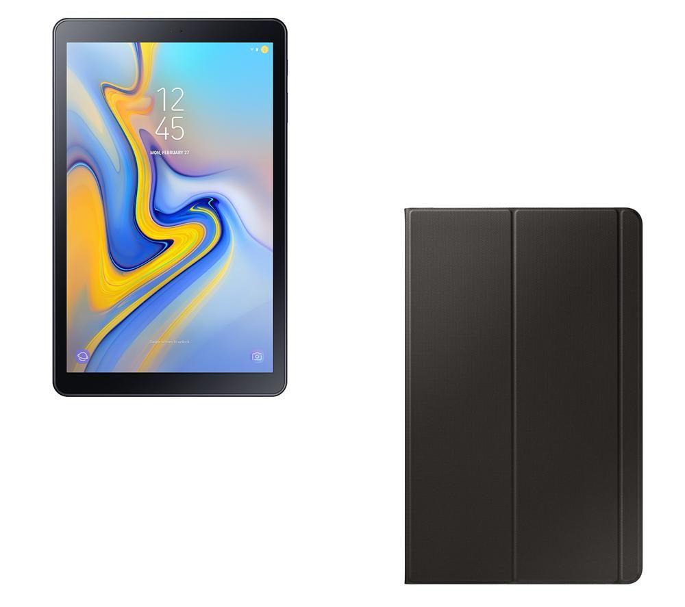 "SAMSUNG Galaxy Tab A 10.5"" Tablet & Smart Cover Bundle - 32 GB, Black"