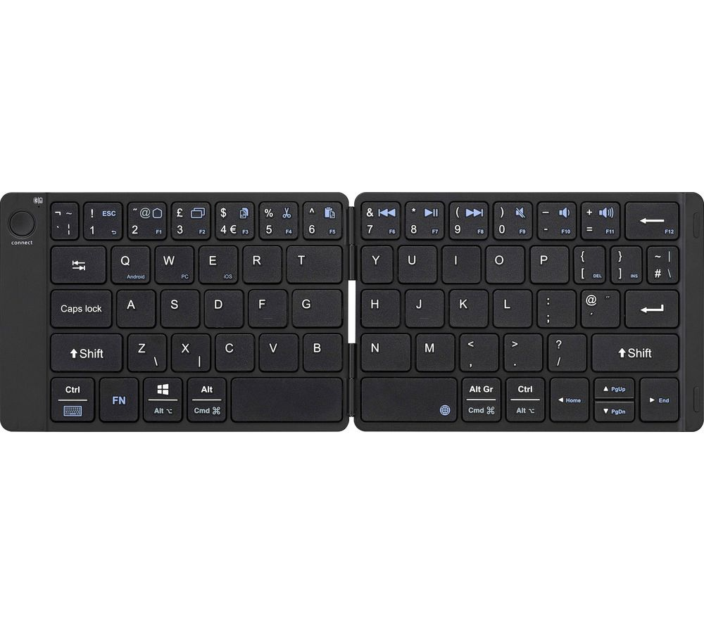 SANDSTROM SKBWLFL19 Wireless Folding Keyboard