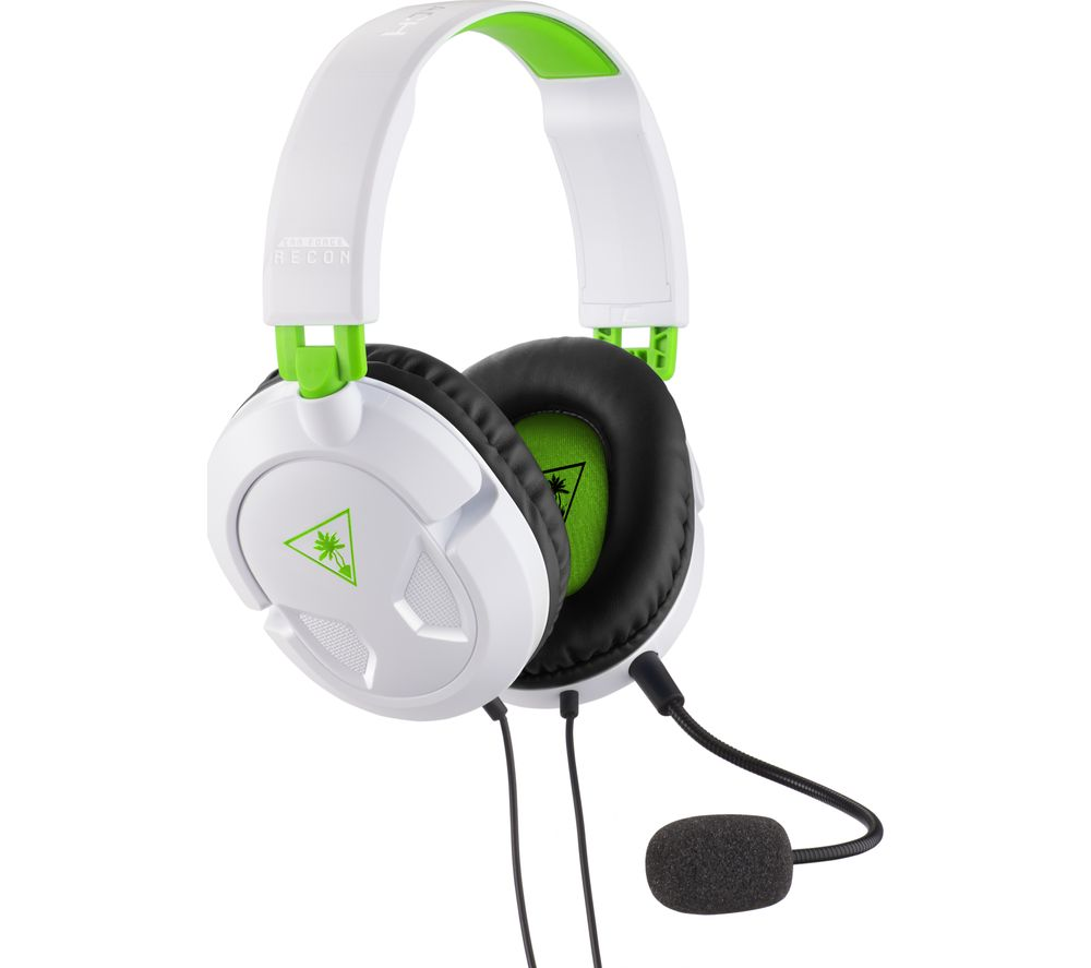 TURTLE BEACH Ear Force Recon 50X Gaming Headset - White & Green