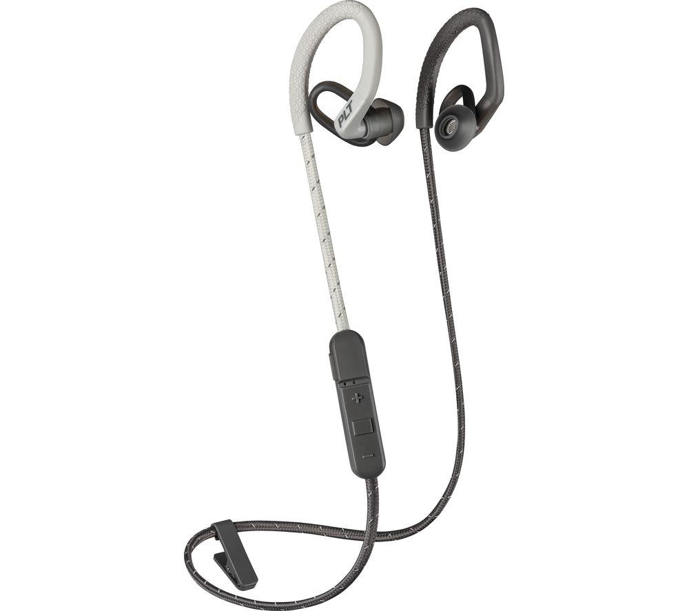PLANTRONICS BackBeat FIT 350 Wireless Bluetooth Headphones - Grey, Grey