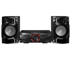 PANASONIC SC-AKX320E-K Bluetooth Megasound Party Hi-Fi System - Black