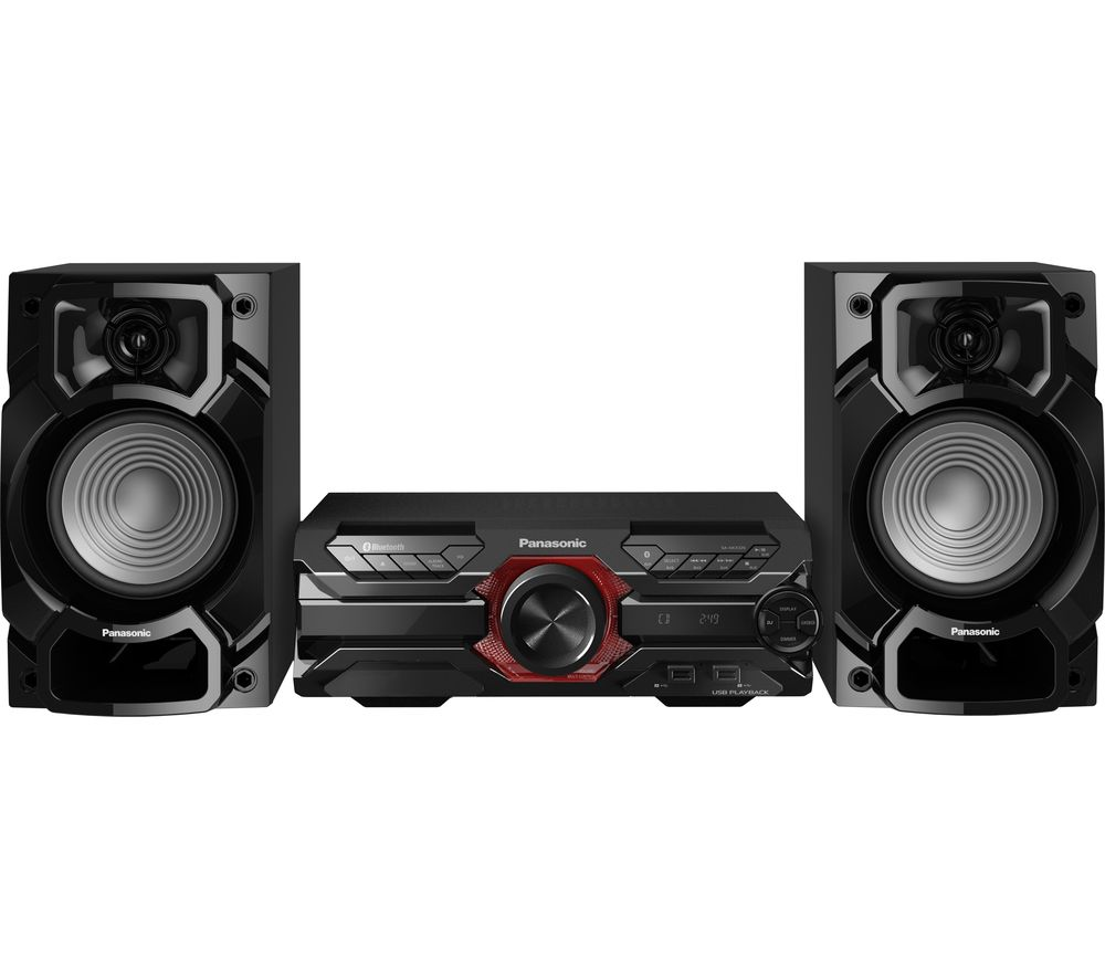 PANASONIC SC-AKX320E-K Bluetooth Megasound Party Hi-Fi System - Black