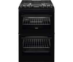 ZANUSSI ZCG43250BA 55 cm Gas Cooker - Black