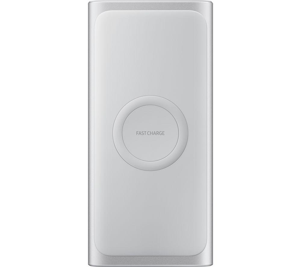 SAMSUNG Wireless Portable Power Bank - Silver