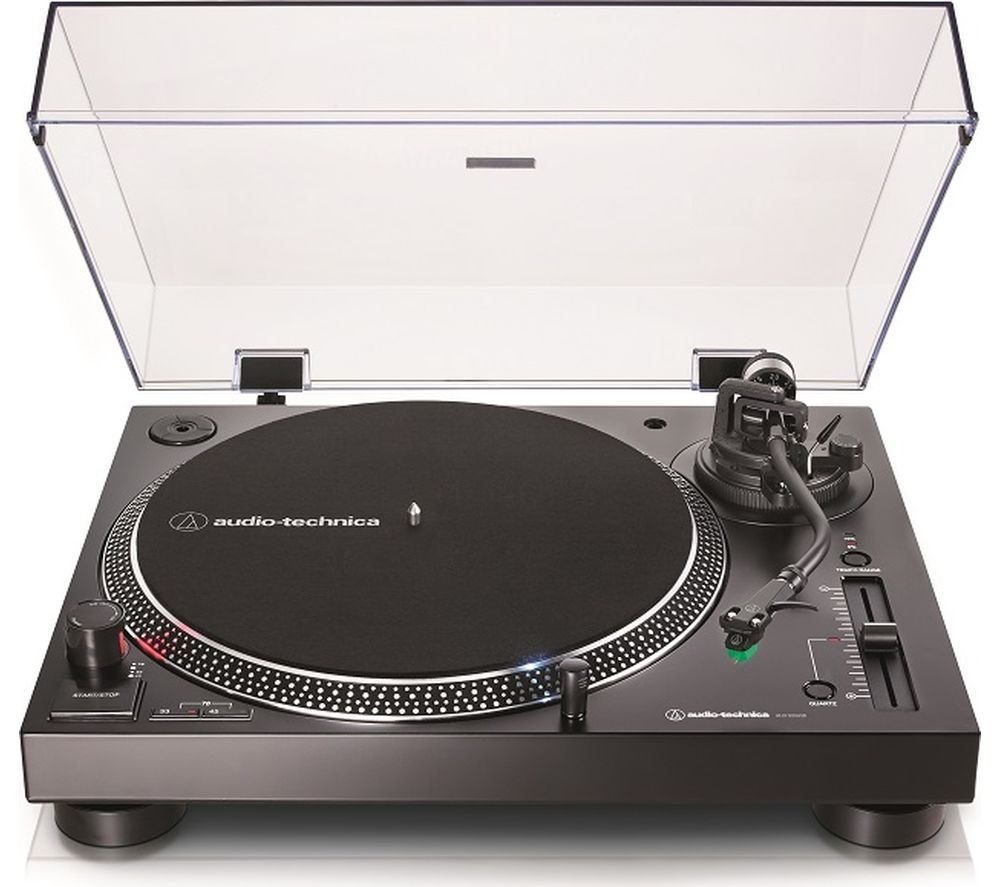 AUDIO TECHNICA AT-LP120XUSB Direct Drive Turntable - Black