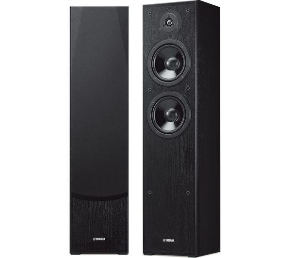 Image of YAMAHA NS-F51 Floorstanding Speakers - Black