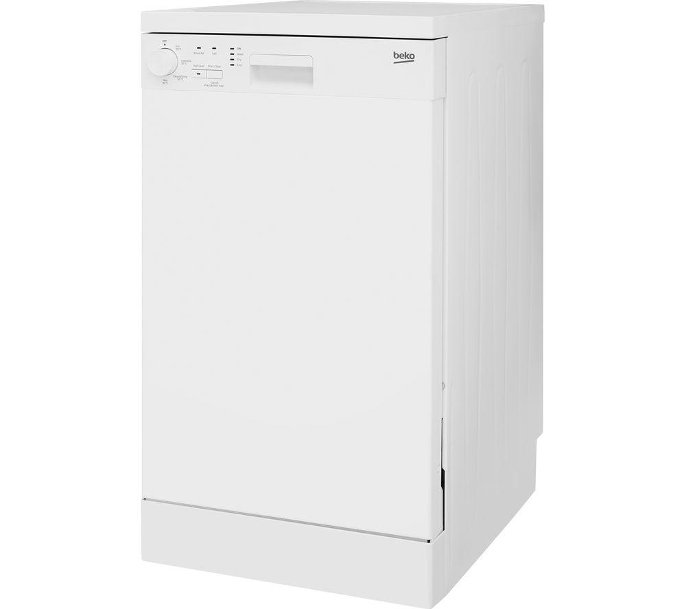 BEKO DFS04010W Slimline Dishwasher - White