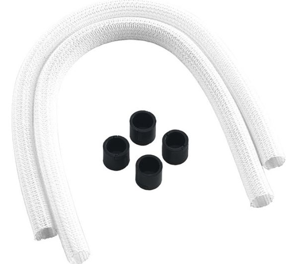 CABLEMOD AIO Series 2 Sleeving Kit - White, White
