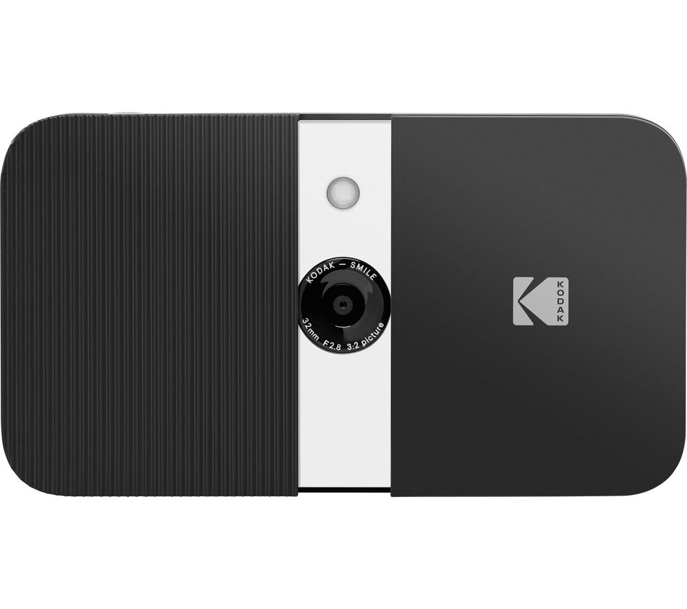 Click to view product details and reviews for Kodak Smile Instant Digital Camera Black White Black.