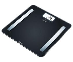BF 600 Bathroom Scales - Pure Black