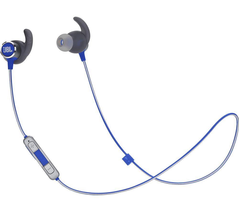 JBL Reflect Mini 2 Wireless Bluetooth Sports Earphones - Blue
