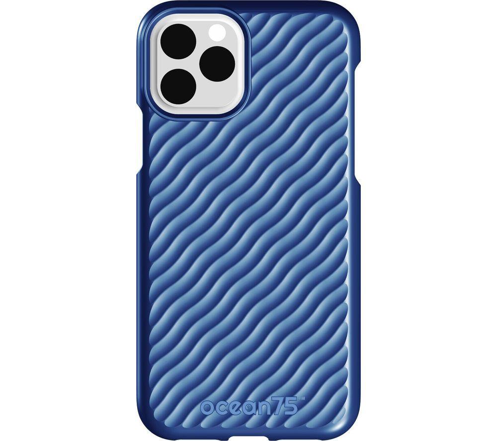 Image of Ocean Wave iPhone 11 Pro Case - Ocean Blue, Blue