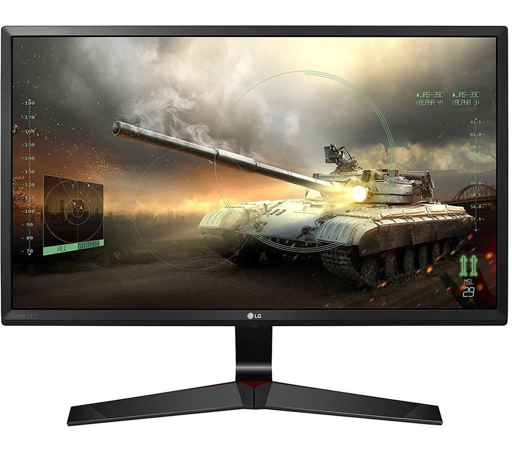 "Image of LG UltraGear 24MP59G-P Full HD 24"" IPS LCD Gaming Monitor - Black, Black"