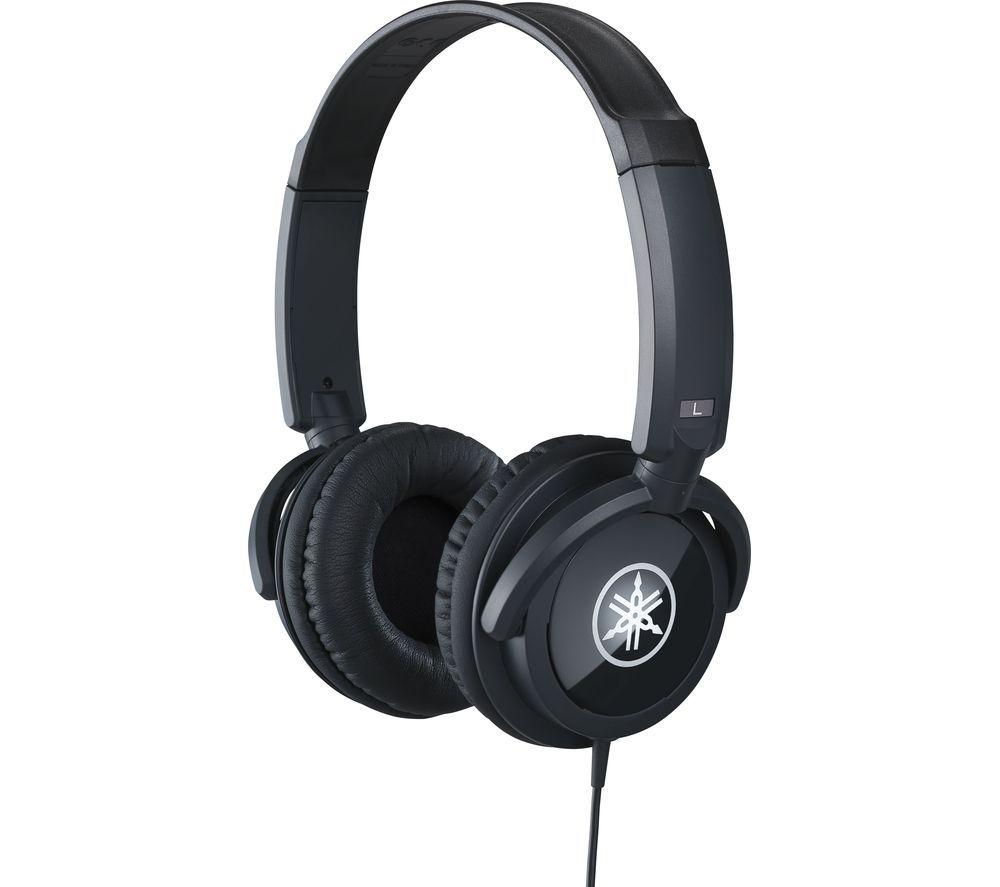 YAMAHA HPH-100B Headphones - Black