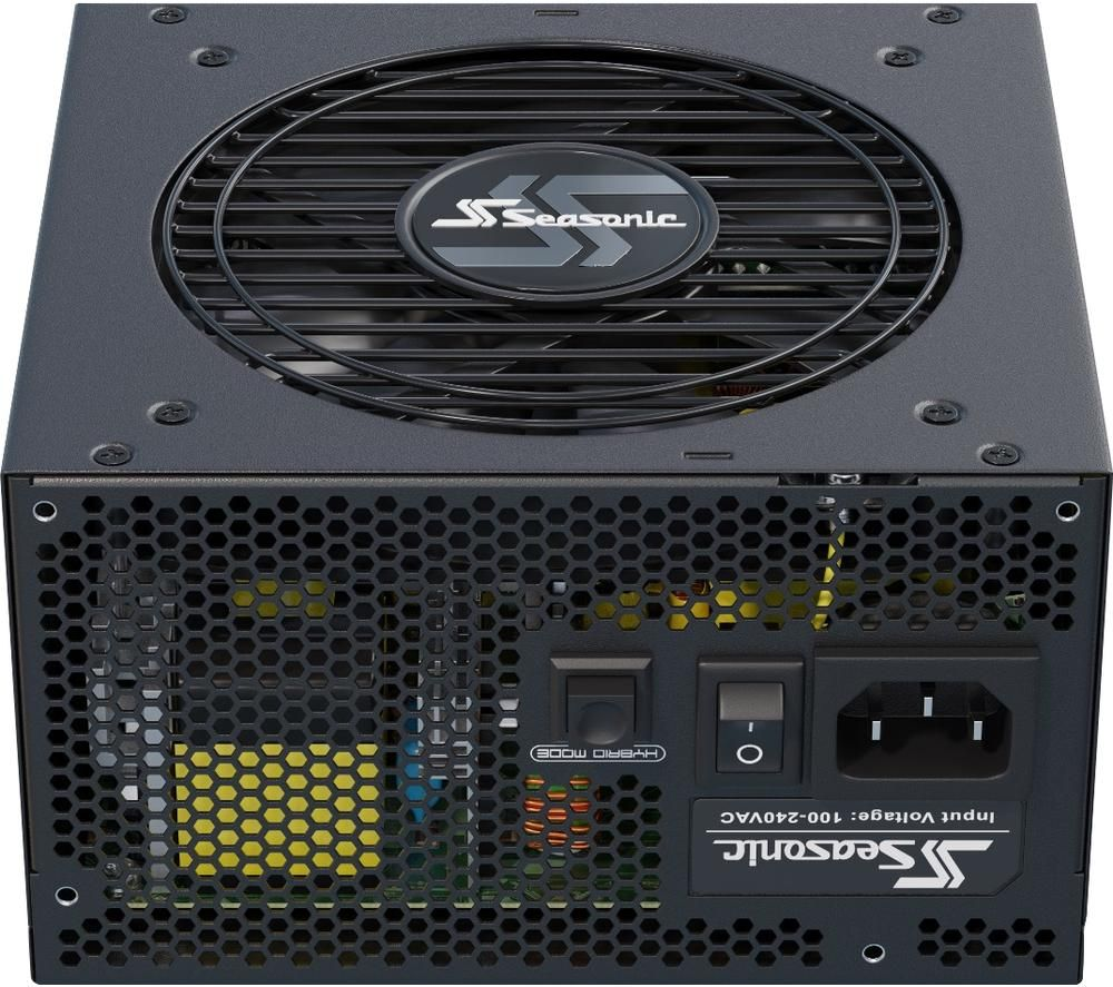 Image of SEASONIC Focus GX 550 Modular ATX PSU - 550 W