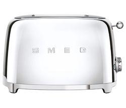 50's Retro TSF01SSUK 2-Slice Toaster - Chrome