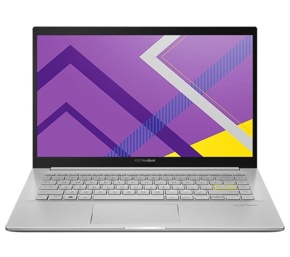 """ASUS VivoBook M431IA 14"""" Laptop - AMD Ryzen 5, 256 GB SSD, Silver"""