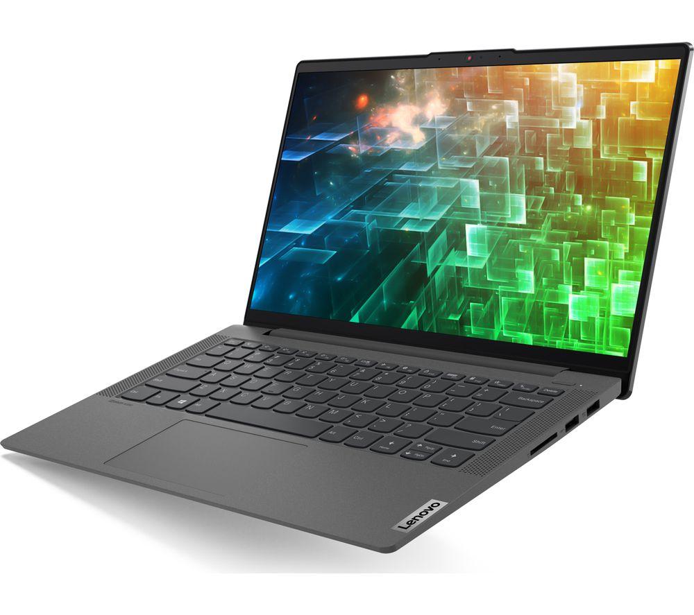 "Image of LENOVO IdeaPad 5i 14"" Laptop - Intel®Core™ i3, 128 GB SSD, Graphite Grey, Graphite"