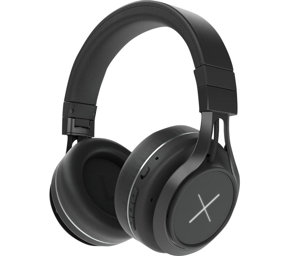KYGO Xenon 69099-90 Wireless Bluetooth Noise-Cancelling Headphones - Black
