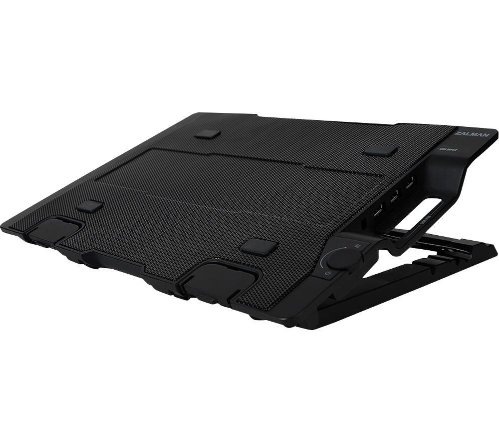 ZALMAN ZM-NS2000 Laptop Cooling Stand - Black, Black