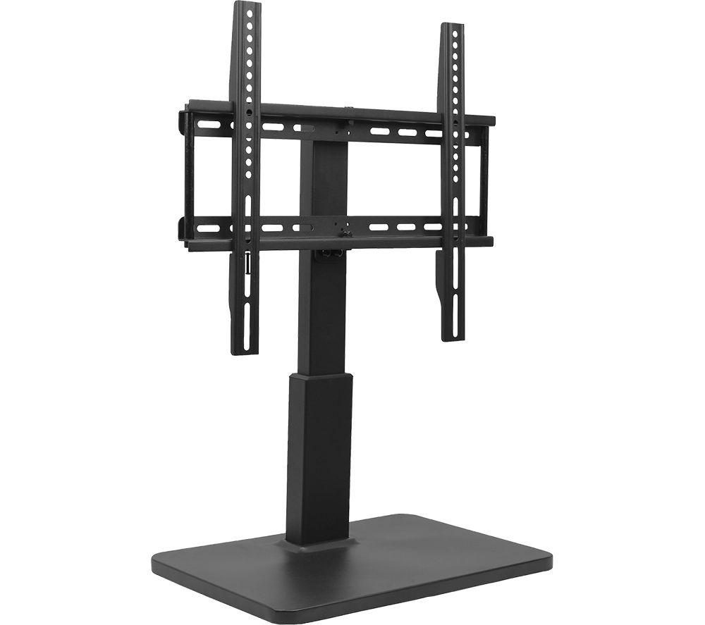TITAN TS 8040 300 mm Swivel TV Stand with Bracket - Black, Black