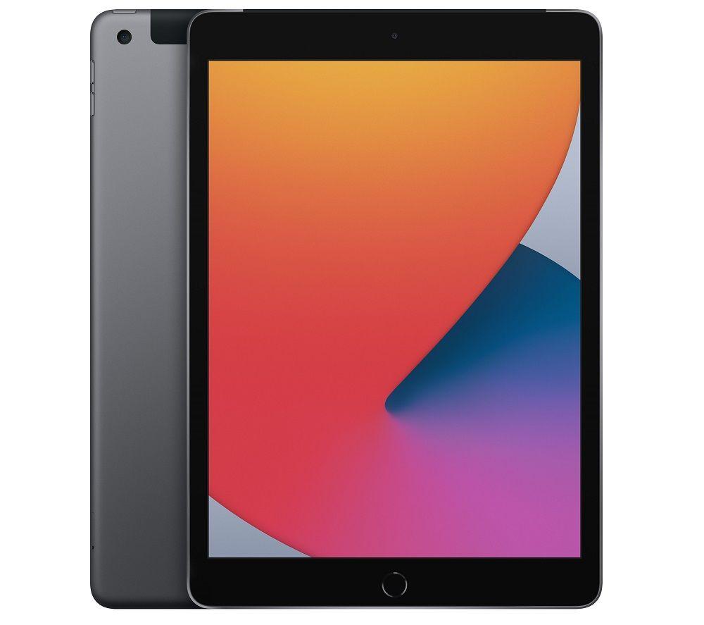 "APPLE 10.2"" iPad Cellular (2020) - 32 GB, Space Grey"