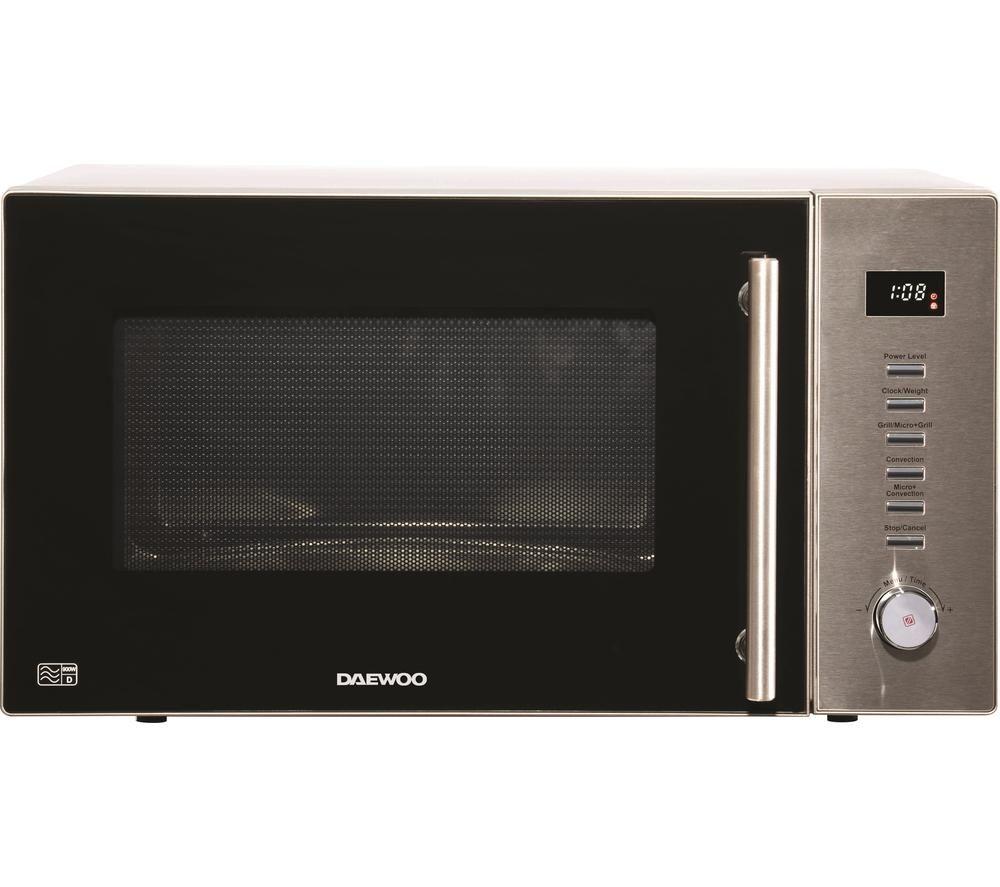 Daewoo Sda2094ge Combination Microwave Silver Silver