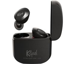 KLIPSCH T5 II Wireless Bluetooth Earphones - Black & Grey
