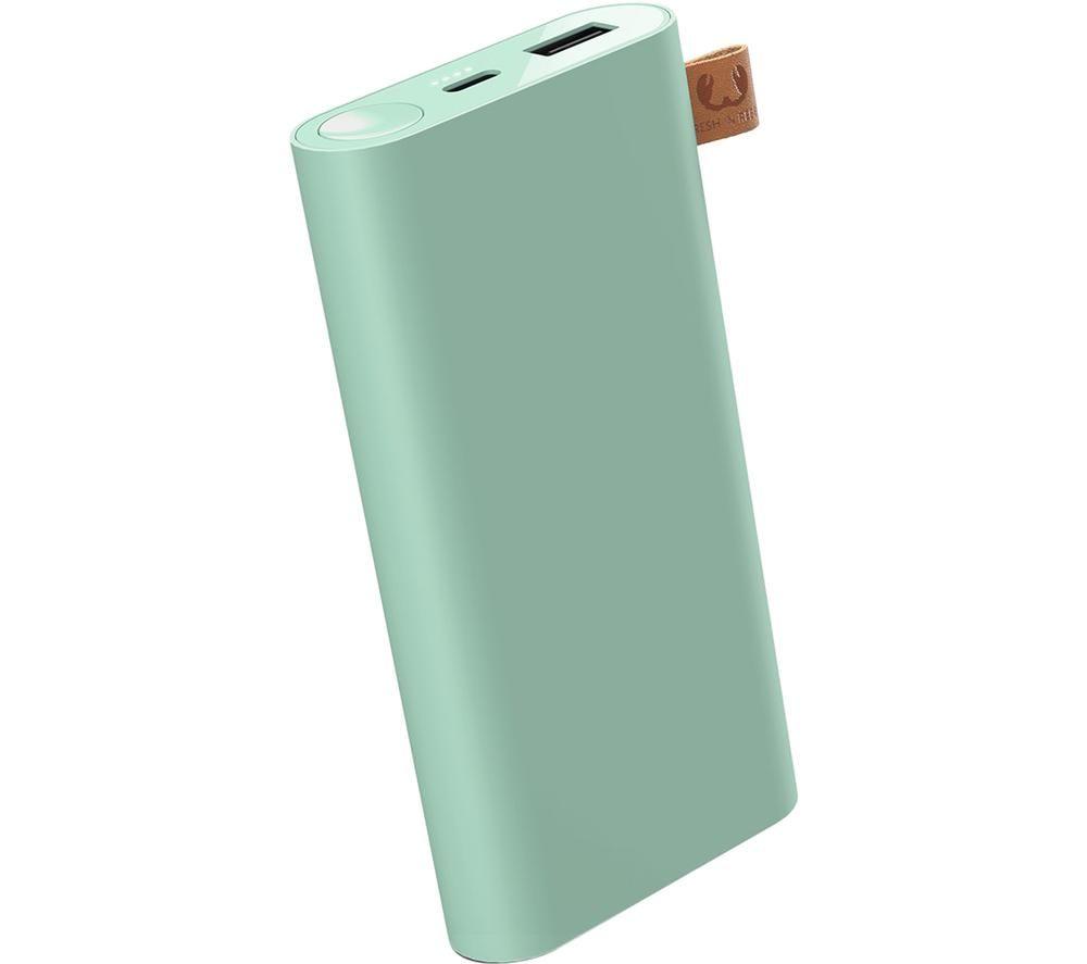 FRESH N REBEL 2PB12000MM Portable Power Bank - Misty Mint