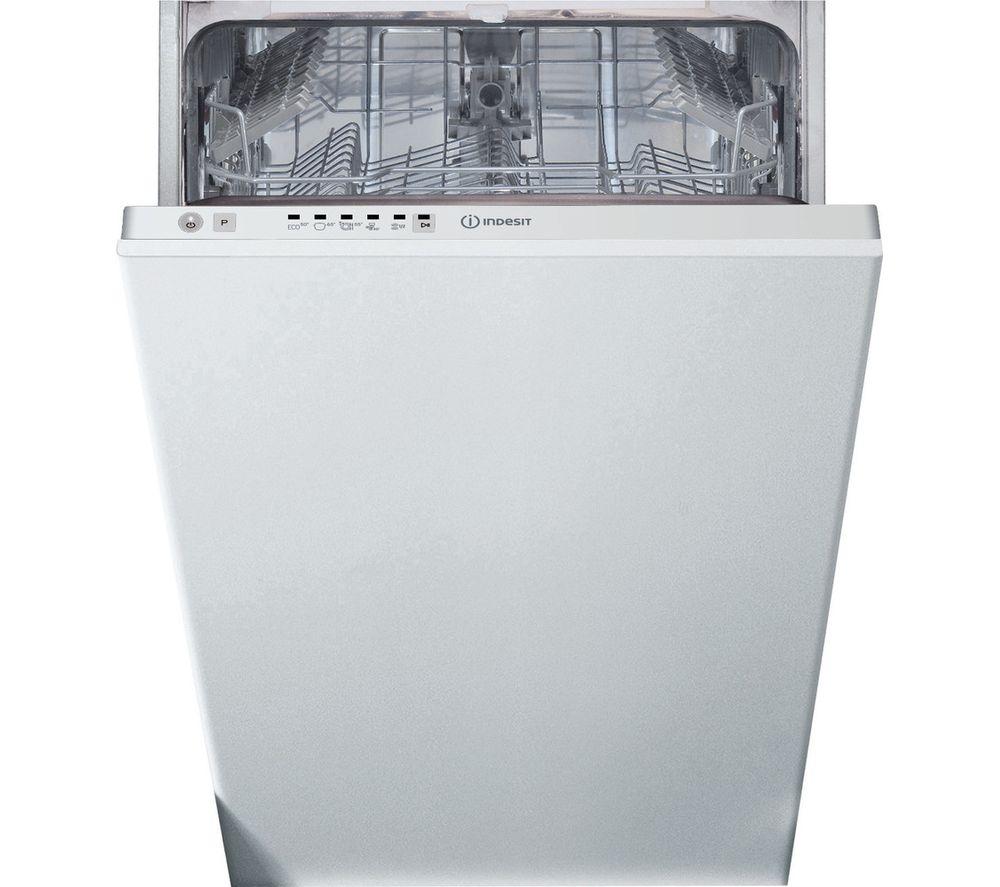 INDESIT DSIE 2B10 UK N Slimline Fully Integrated Dishwasher
