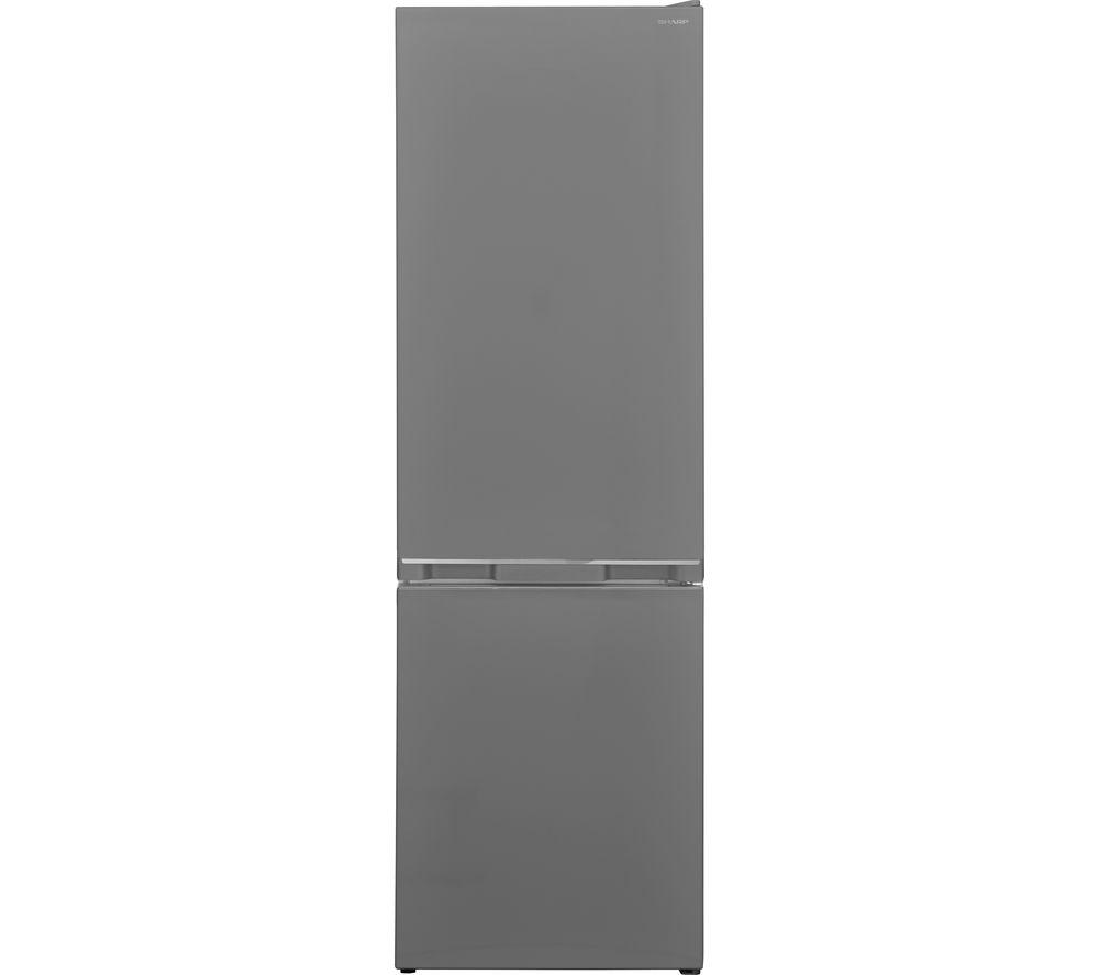 SHARP SJ-BB04DTXSF 60/40 Fridge Freezer - Silver