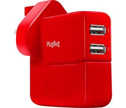 PlugBug Duo MacBook Plug Adapter with USB