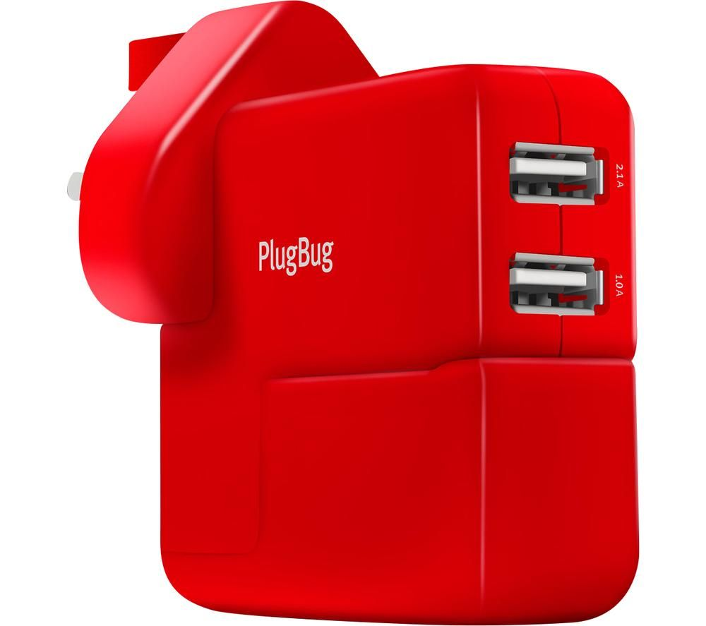 TWELVE SOUTH PlugBug Duo MacBook Plug Adapter with USB