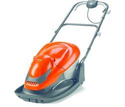 Easi Glide 300 Corded Hover Lawn Mower - Orange & Grey
