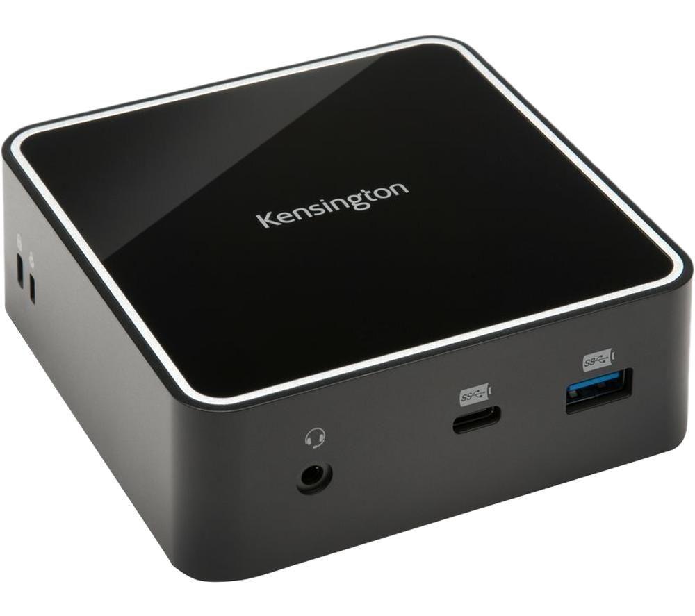 Image of KENSINGTON SD2400T Dual 4K Nano Dock 8-port Thunderbolt 3 Connection Hub