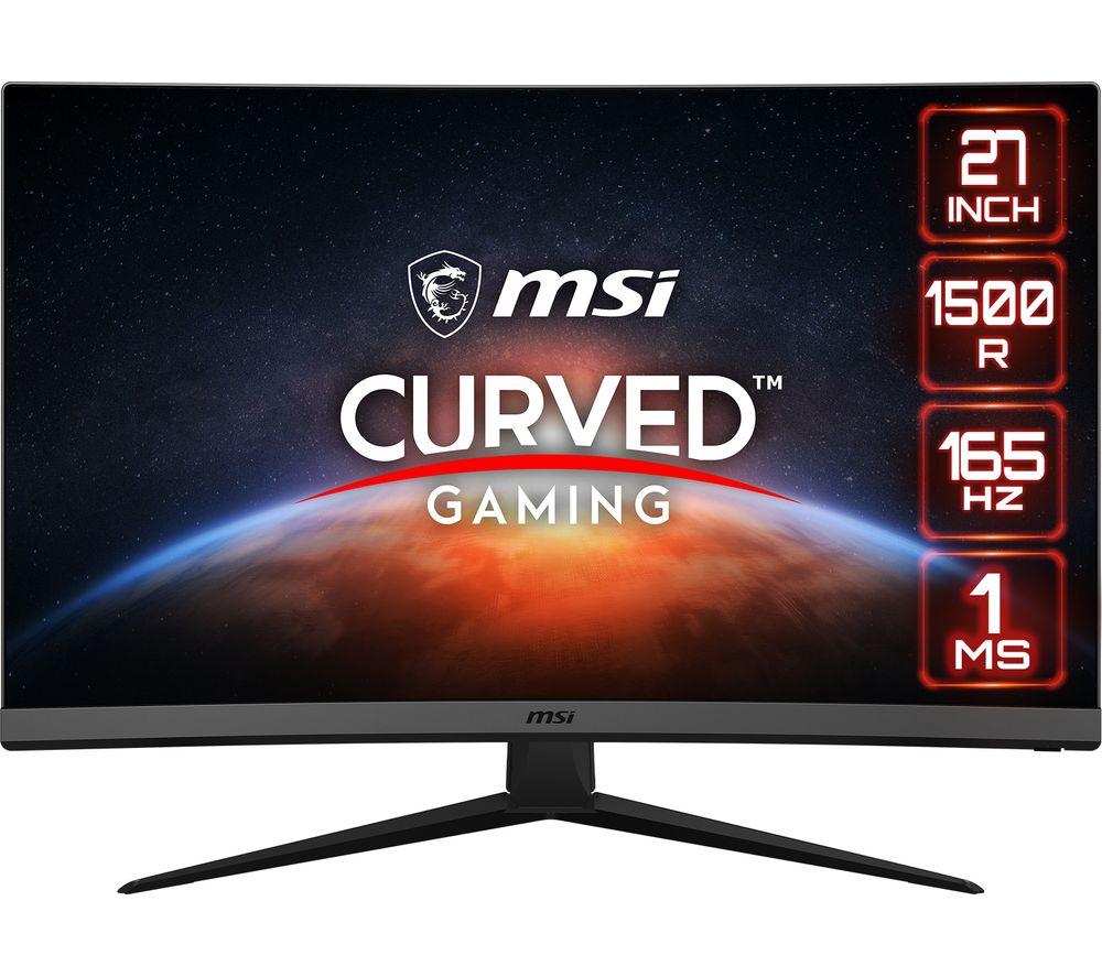 "MSI Optix G27C7 Full HD 27"" Curved LED Gaming Monitor - Black"