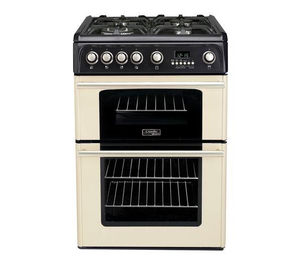 Image of CANNON Professional 60 CH60GPCF Gas Cooker - Cream, Cream