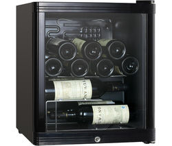 ESSENTIALS CWC15B14 Wine Cooler - Black