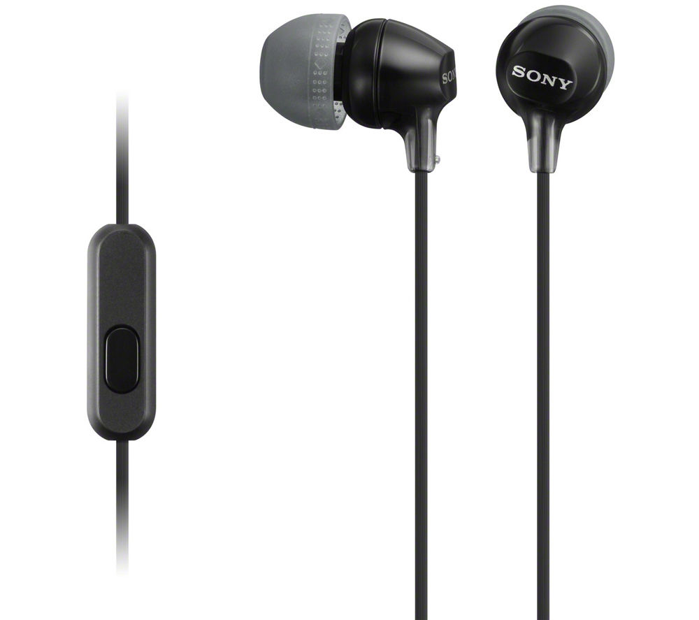 SONY EX15APB Headphones - Black