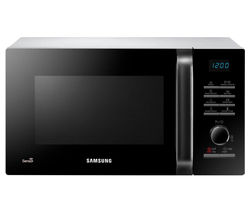 SAMSUNG MS23H3125AW Solo Microwave - Black & White Best Price, Cheapest Prices