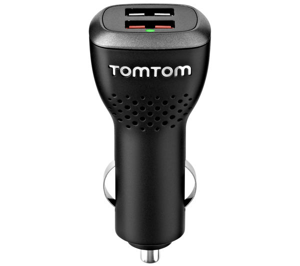 Image of TOMTOM 9UUC.001.22 GPS Sat Nav Dual Charger - for Sat Nav & USB Devices