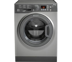HOTPOINT Smart WMFUG842G Washing Machine - Graphite