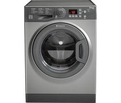 HOTPOINT Smart WMFUG842G Washing Machine - Graphite