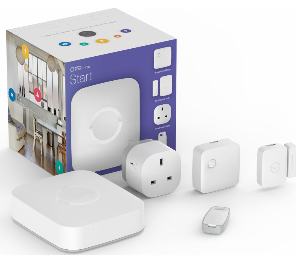 buy samsung smartthings starter kit free delivery currys. Black Bedroom Furniture Sets. Home Design Ideas